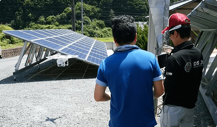 実際に太陽光発電施設での仕事を体験できる!