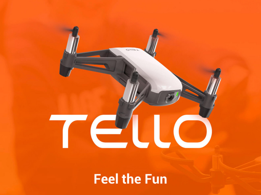 飛行申請必要なし!80gのトイドローン「Tello」