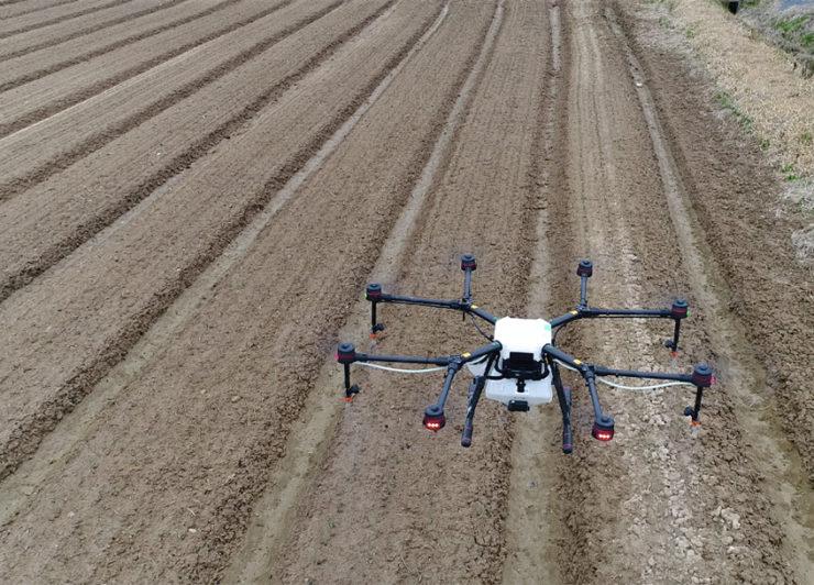 【※最新情報】ドローンの農薬散布における市場動向について