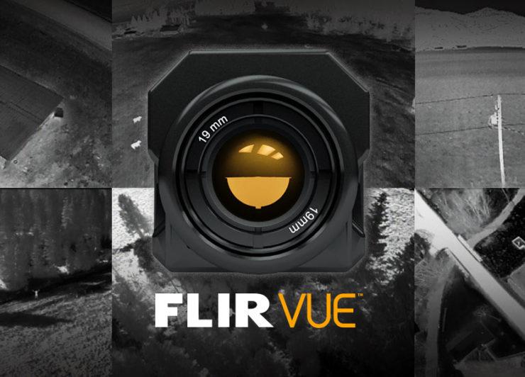 赤外線カメラをドローンに搭載!FLIR VUEシリーズの特徴や違いなどを紹介