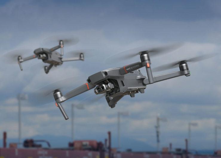 【予約受付中】DJI最新の赤外線カメラ搭載ドローン「MAVIC 2 ENTERPRISE DUAL」の販売を開始