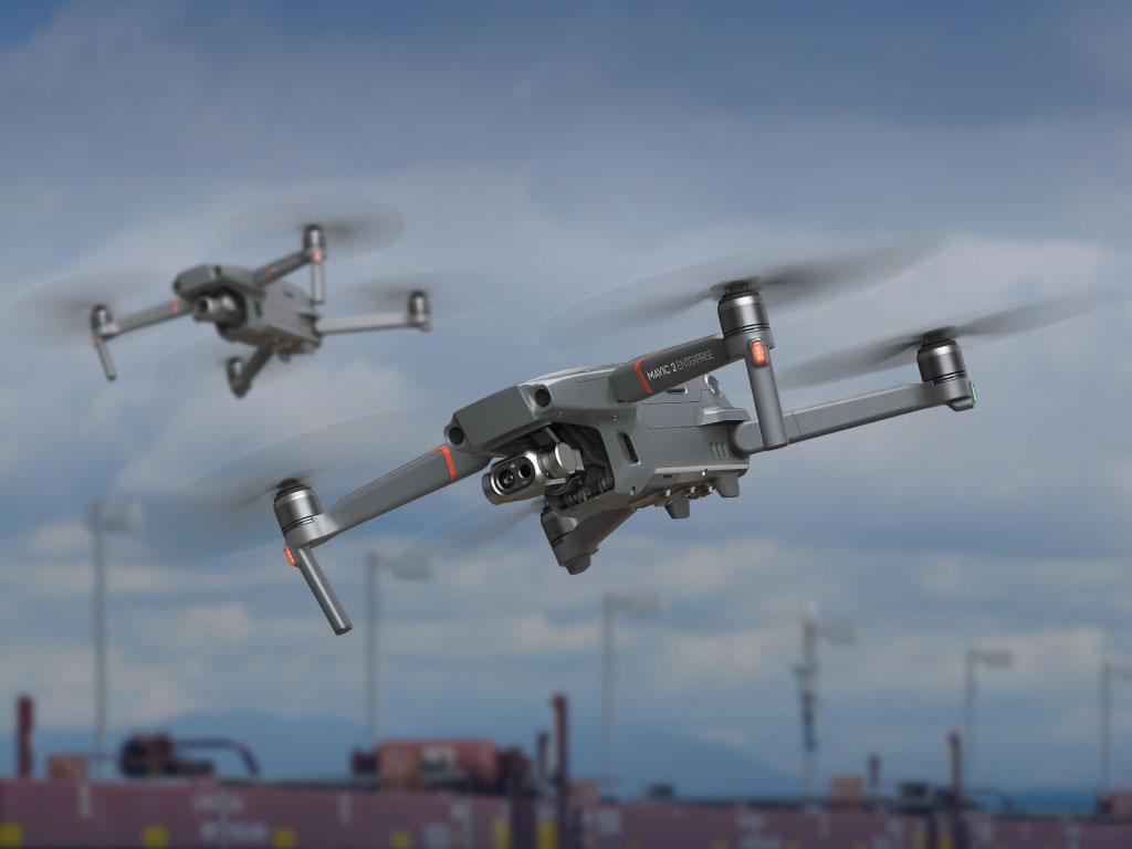 【好評発売中】DJI最新の赤外線カメラ搭載ドローン「MAVIC 2 ENTERPRISE DUAL」発売中