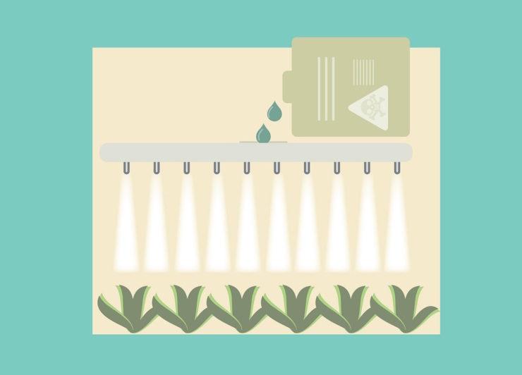 ドローンの農薬散布で使用される農薬とは?知っておきたい農薬の基本