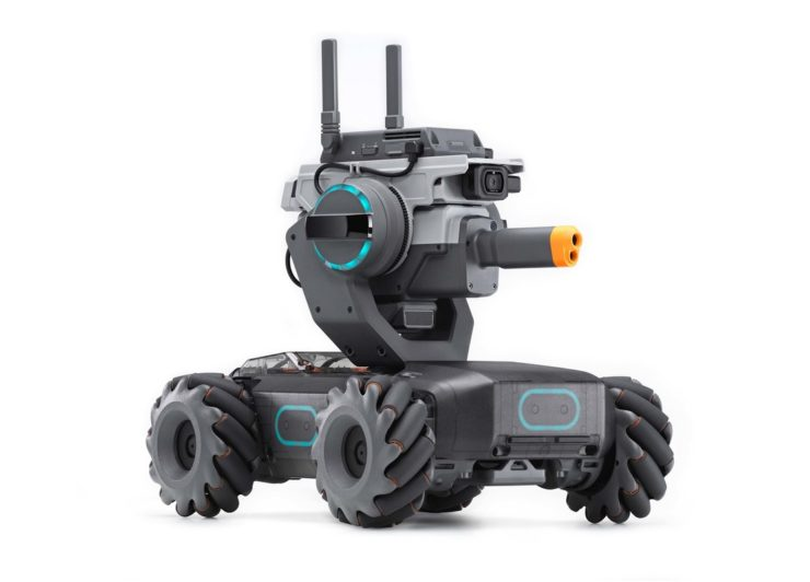DJIから本格教育ロボット「RoboMaster S1」が登場!対戦もできてカスタム自在
