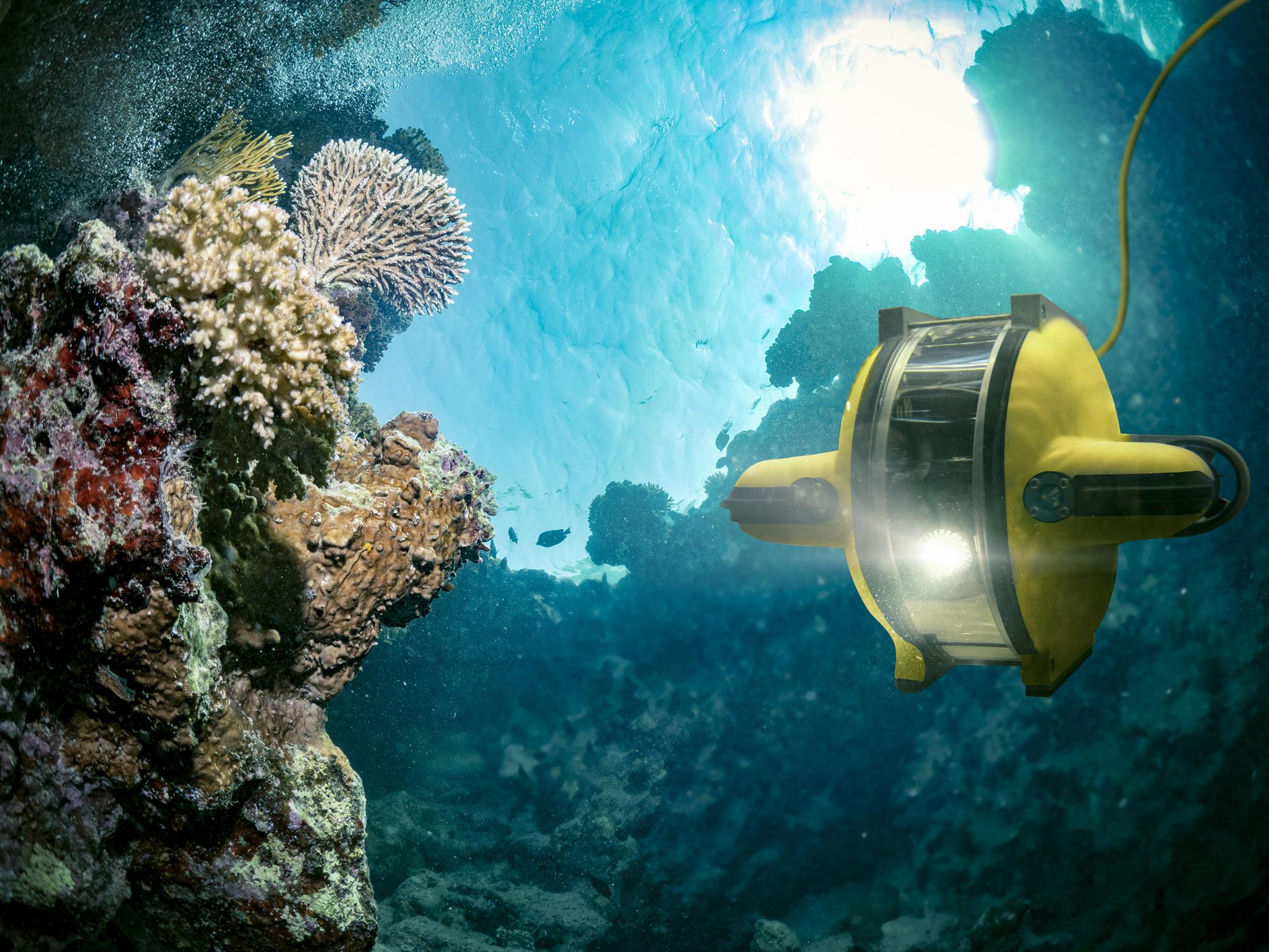 【ドローンと仕事】漁業・建築土木・水質調査。水中の作業を効率化する水中ドローンに注目!